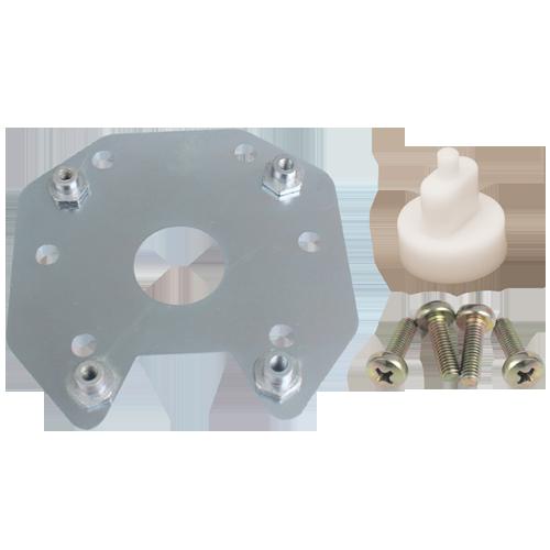 Kit Adaptável Motor Carto P/ Mabuchi - LD/LE (Chapa de Aço)