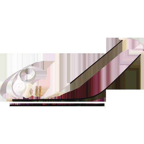 Kit para Máquina de Vidro Elétrico - Porta Dianteira Golf .../98