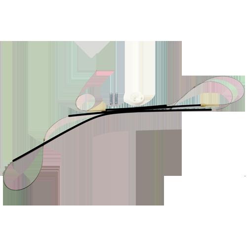 Kit para Máquina de Vidro Elétrico - Porta Dianteira Gol GIII *Com Roldana 208