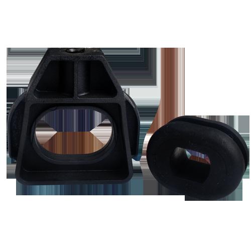 Suporte do Radiador - Superior - com Coxim Golf - Jetta - New Beetle - Saveiro - Fox