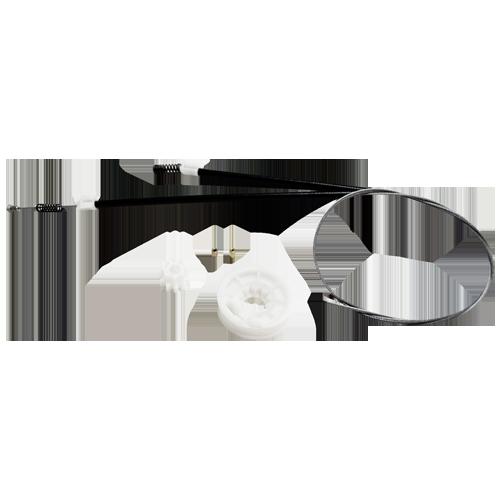 Kit para Máquina de Vidro Elétrico - Porta Traseira Fox 4 Portas todos